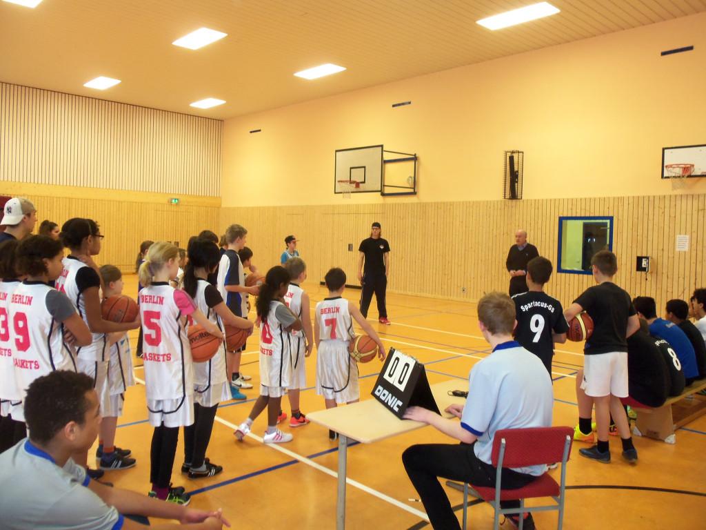 ELSE Beuter Cup im Basketball der Emanuel Lasker Schule in Friedrichshain