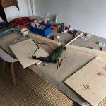 DIY Shotclock Halterung