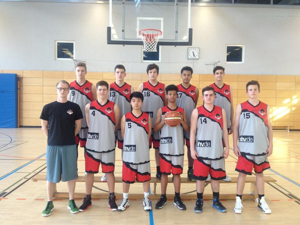 Basketball Mannschaft Freibeuter mU18